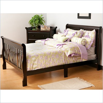 Status Furniture Tuscany Full Size Sleigh Bed in Espresso