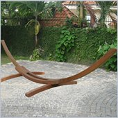 Vifah Arc Wood Hammock Stand