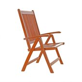 Vifah Outdoor Vista Five Position Reclining Chair