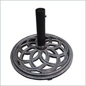 Vifah Cast Iron Black Umbrella Base