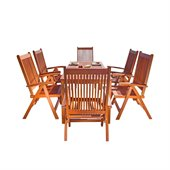 Vifah Balthazar 7 Piece Dining Set