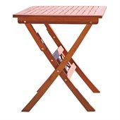 Vifah Outdoor Wood Folding Bistro Table