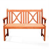 Vifah Outdoor 2-Seater Softcross Bench