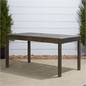 Vifah Renaissance Outdoor Rectangular Table