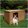ADD TO YOUR SET: Vifah Renaissance Outdoor Hardwood Cabin Dog House