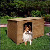 Vifah Renaissance Outdoor Hardwood Cabin Dog House