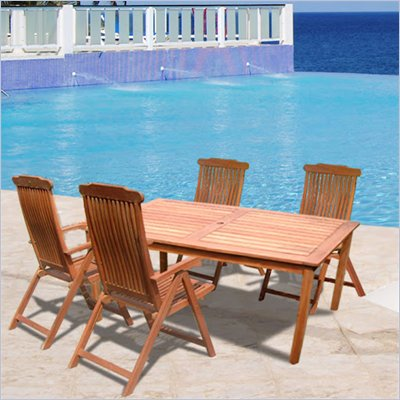 Vifah Balthazar Outdoor Dining Set