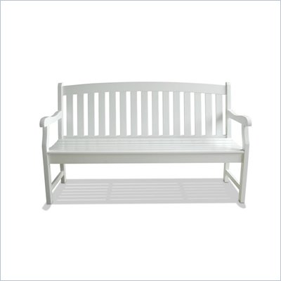 Vifah Bradley Outdoor Wood Bench