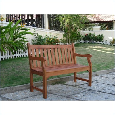 Vifah Outdoor 2-Seater Henley Bench 