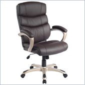 TECHNI MOBILI 919H Executive Office Chair in Chocolate