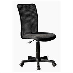 TECHNI MOBILI Executive 9300B Mesh Office Chair in Black