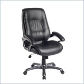Techni Mobili Executive High Back Chair in Black