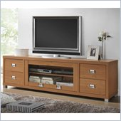 Techni Mobili TV Stand with 4 Drawer in Maple for TVs Up To 60 Inch