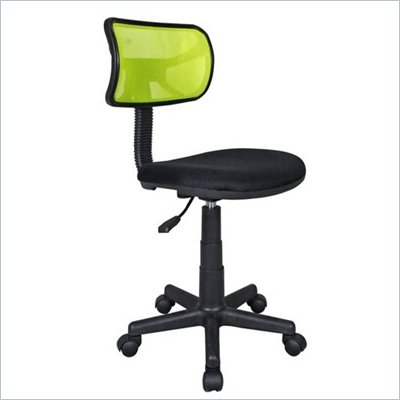 Techni Mobili Mesh Task Chair in Lime