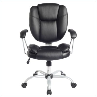 TECHNI MOBILI  0930 Ergonomic Task Chair in Black