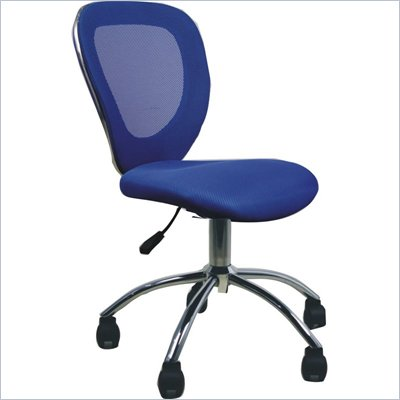 TECHNI MOBILI Q030 Mesh Office Chair in Blue