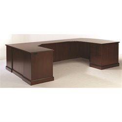 DMi Furniture Exec Left Workstation U Desk
