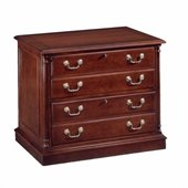 DMi Keswick 2 Drawer Lateral Wood File in English Cherry