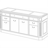 DMi Oxmoor Executive Storage Credenza