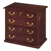 DMi Governors 2 Drawer Lateral Wood File in Mahogany