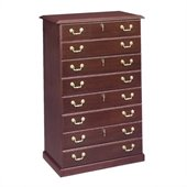 DMi Governors 4 Drawer Lateral Wood File in Mahogany