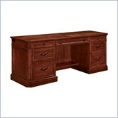 DMi Arlington Wood Credenza Desk in Medium Walnut