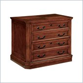 DMi Arlington 2 Drawer Lateral Wood File Cabinet in Medium Walnut