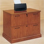 DMi Belmont 2 Drawer Lateral Wood Letter/Legal File Cabinet