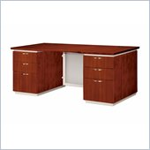 DMi Pimlico Veneer 66 in. Executive Desk (Assembled)