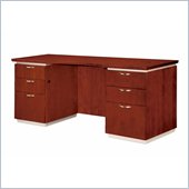 DMi Pimlico Veneer 66 in. Wood Kneehole Credenza (Assembled)