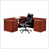DMi Pimlico Veneer Executive 66 in. Right L-Shaped Desk (Assembled)