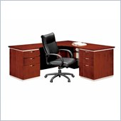 DMi Pimlico Veneer Executive 66 in. Left L-Shaped Desk (Assembled)