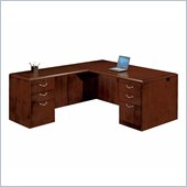 DMi Summit Executive 66 in. Left L-Shaped Desk (Assembled)