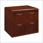 DMi Summit 2 Drawer Wood Lateral File in Cherry Finish