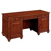 DMi Antigua Wood Computer Credenza in Cherry