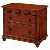 DMi Antigua 2 Drawer Lateral Wood File in Cherry