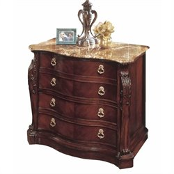 DMi Balmoor 2 Drawer Lateral Wood File Cabinet in Bordeaux Cherry
