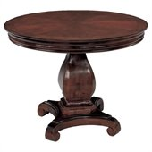 DMi Rue de Lyon 3.5' Round Conference Table in Chocolate