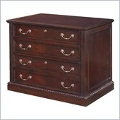 DMi Wellington 4 Drawer Wood Lateral File in Garnet Cherry