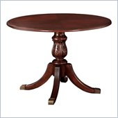 DMi Wellington 3.5' Round Conference Table with X-Shaped Base in Cherry