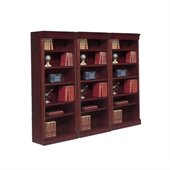 DMi Keswick Wall Bookcase in English Cherry Finish