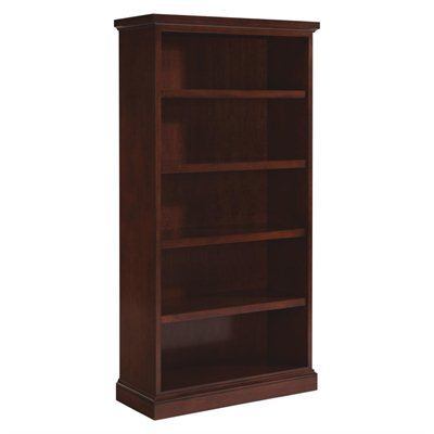 DMi Belmont Standard 5 Shelf 72 in. High Wood Bookcase