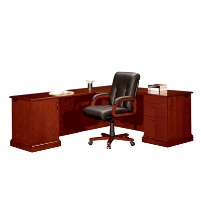 DMi Belmont L-Shape Corner Wood Desk