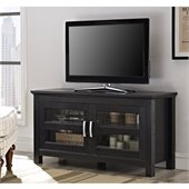 Walker Edison 44 Columbus Black TV Stand