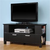 Walker Edison 44 Coronado Black TV Stand
