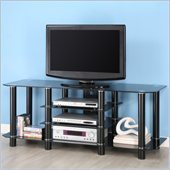 Walker Edison Dynasty 60 Black TV Stand