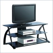 Walker Edison 48 Inch Armada TV Stand in Black
