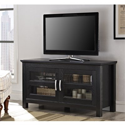 Walker Edison 44&quot; Columbus Black TV Stand