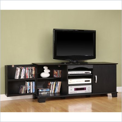 Walker Edison 60&quot; Jamestown Wood TV Stand