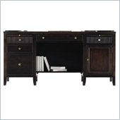 Stanley Furniture Hudson Street Wood Computer Desk in Dark Espresso